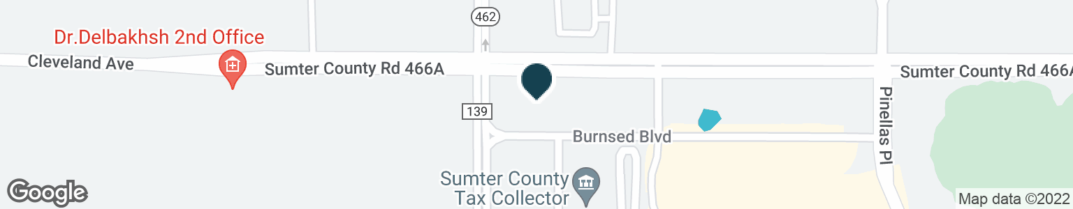 Google Map of2615 BURNSED BLVD