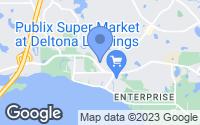 Map of Deltona, FL