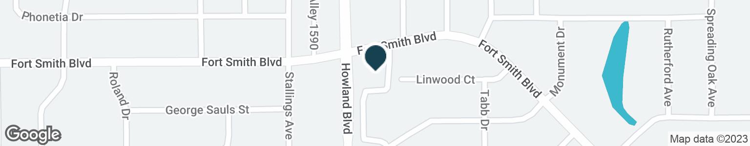 Google Map of500 HOWLAND BLVD