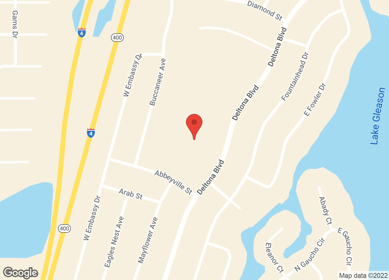 Google Map of VCA Newman Deltona Animal Hospital
