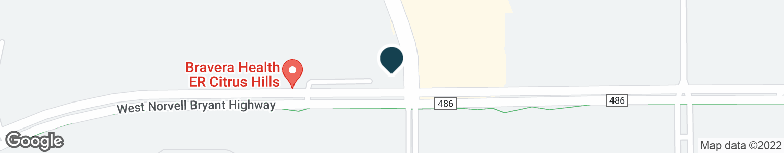 Google Map of795 W NORVELL BRYANT HWY