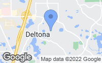 Map of Deltona, FL