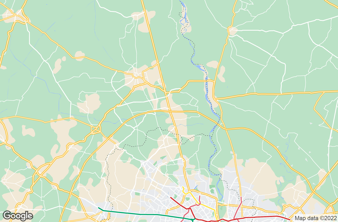 Google Map of Sonepat