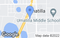Map of Umatilla, FL