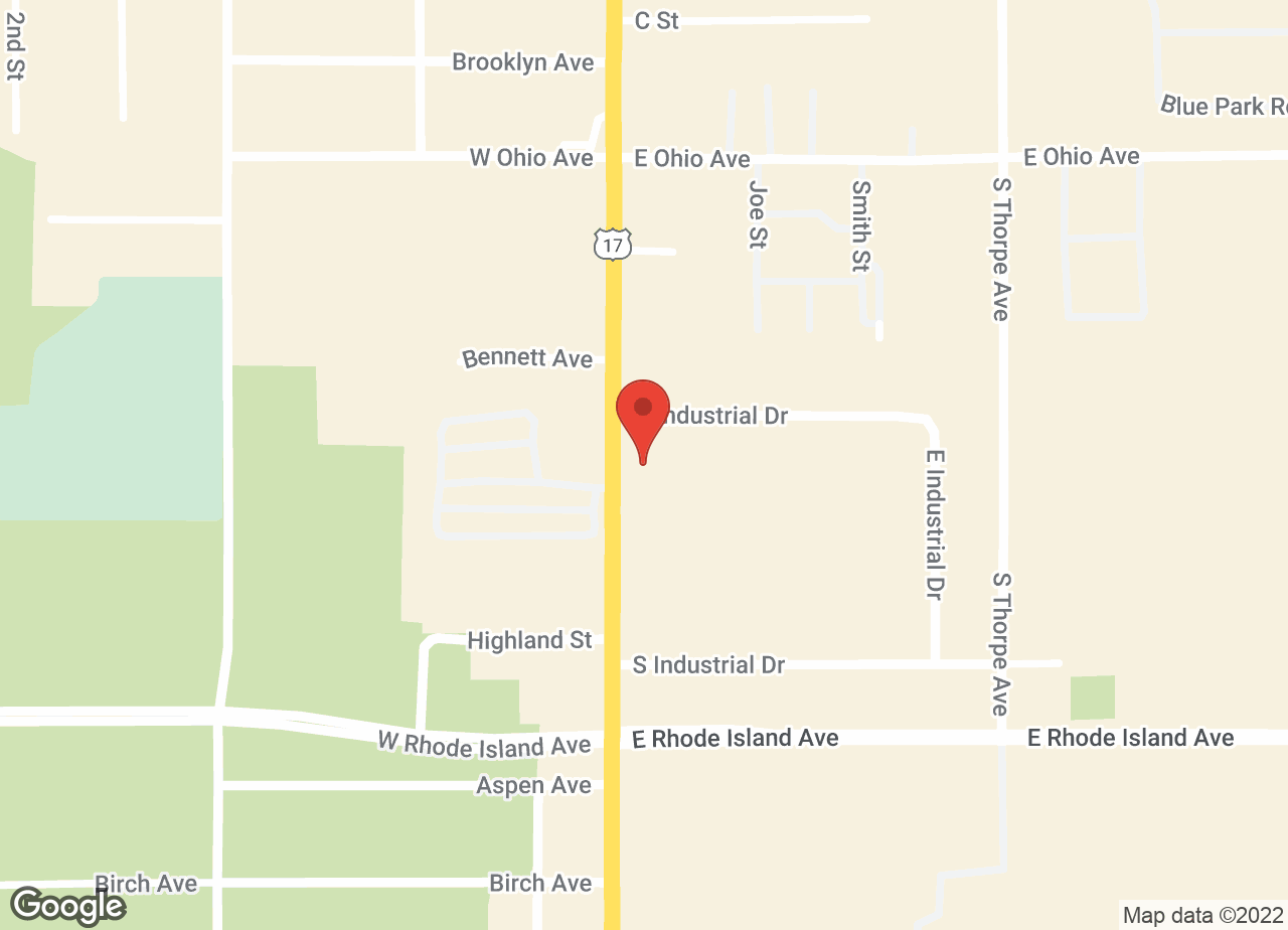 Google Map of VCA Orange City Animal Hospital