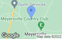 Map of Meyersville, TX