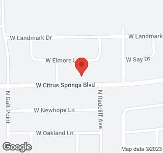 2335 W Citrus Springs Boulevard