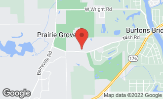 Map of 2800 Nish Road PRAIRIE GROVE, IL 60012