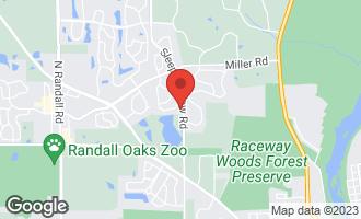 Map of 2805 Hidden Valley Court CARPENTERSVILLE, IL 60110
