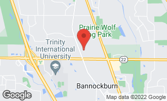 Map of 2805 Telegraph Road BANNOCKBURN, IL 60015
