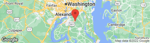 Map of 2808 BREWSTER ROAD WALDORF, MD 20601