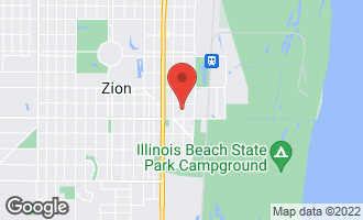 Map of 2808 Elizabeth Avenue ZION, IL 60099