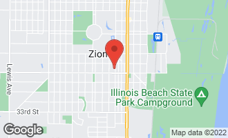 Map of 2812 Emmaus Avenue ZION, IL 60099