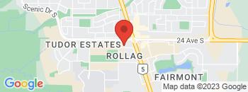 Google Map of 2815+-+26+Avenue+South%2CLethbridge%2CAlberta+T1K+7K7