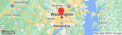 Map of 2815 DUMBARTON STREET NW WASHINGTON, DC 20007