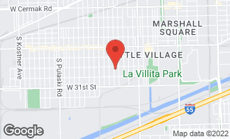 Map of 2817 South Trumbull Avenue CHICAGO, IL 60623