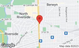 Map of 2823 Harlem Avenue BERWYN, IL 60402