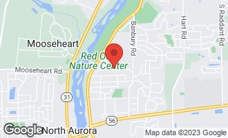 Map of 283 Ridge Road NORTH AURORA, IL 60542