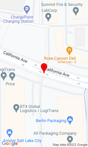 Google Map of Kimball Equipment 2839 West California Ave., Salt Lake City, UT, 84104