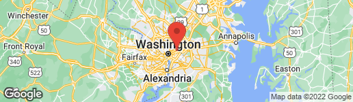 Map of 2839 27TH STREET NE WASHINGTON, DC 20018