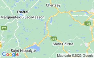 Map of Camping Champs Boisés