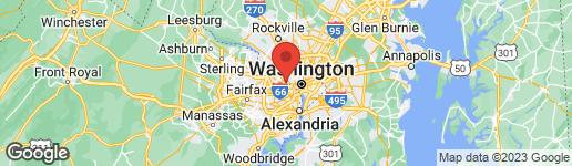 Map of 2841 BEECHWOOD CIRCLE ARLINGTON, VA 22207