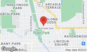 Map of 2842 West Farragut Avenue #1 CHICAGO, IL 60625