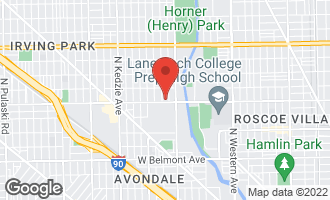 Map of 2844 West Addison Street 2S CHICAGO, IL 60618