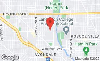Map of 2844 West Addison Street CHICAGO, IL 60618