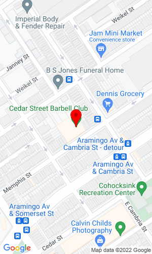 Google Map of Quaker City Auctioneers, Inc. 2860 Memphis St, Philadelphia, PA, 19134