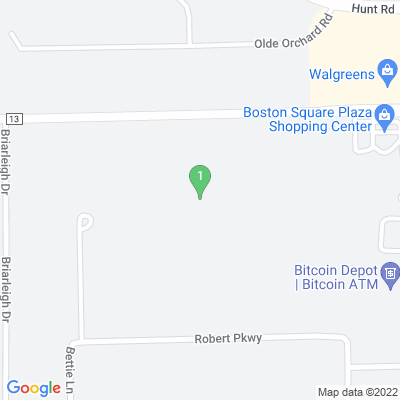 Google Map of 2876 Boston Rd  Brunswick, OH 44212