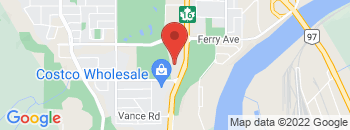 Google Map of 2879+Highway+16+West%2CPrince+George%2CAlberta+V2N+0A3