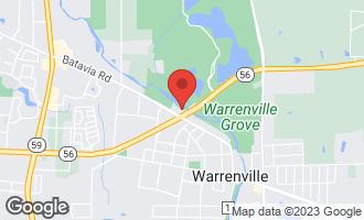 Map of 28w620 Batavia Road WARRENVILLE, IL 60555