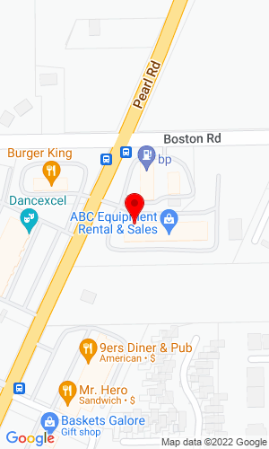 Google Map of ABC Equipment 29 Pearl Road, Brunswick , OH, 44212
