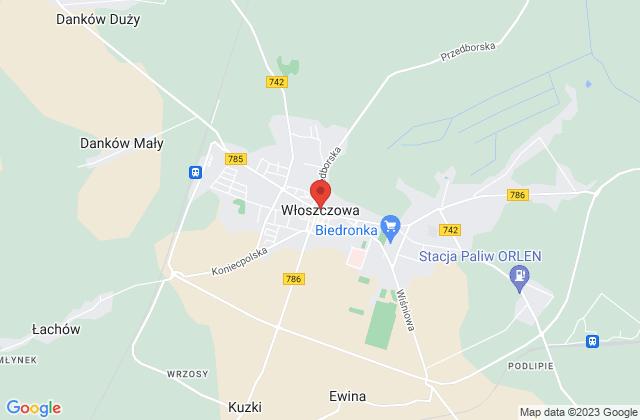 Wyświetl Bartosz Nowak,Hurtownia Materiałów Instalacyjno Budowlanych INST-BUD na mapie
