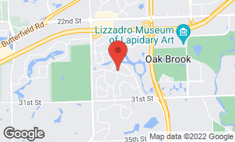 Map of 29 Mockingbird Lane OAK BROOK, IL 60523