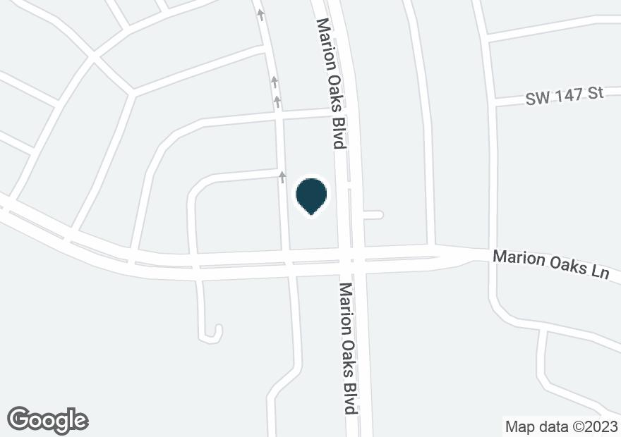 Google Map of260 MARION OAKS BLVD