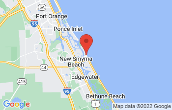 Map of New Smyrna Beach