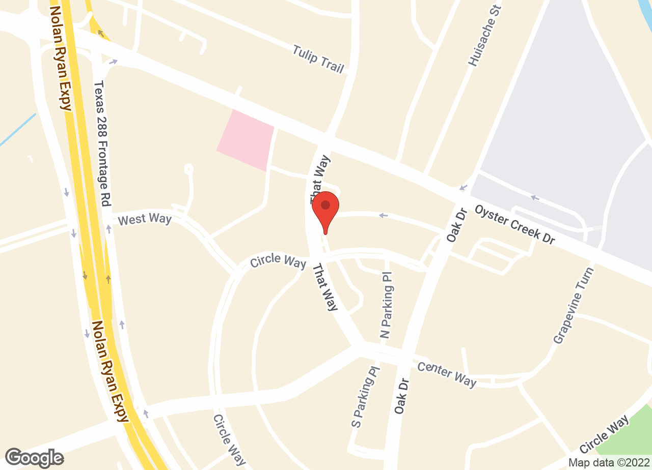 Google Map of VCA Lake Jackson Animal Hospital