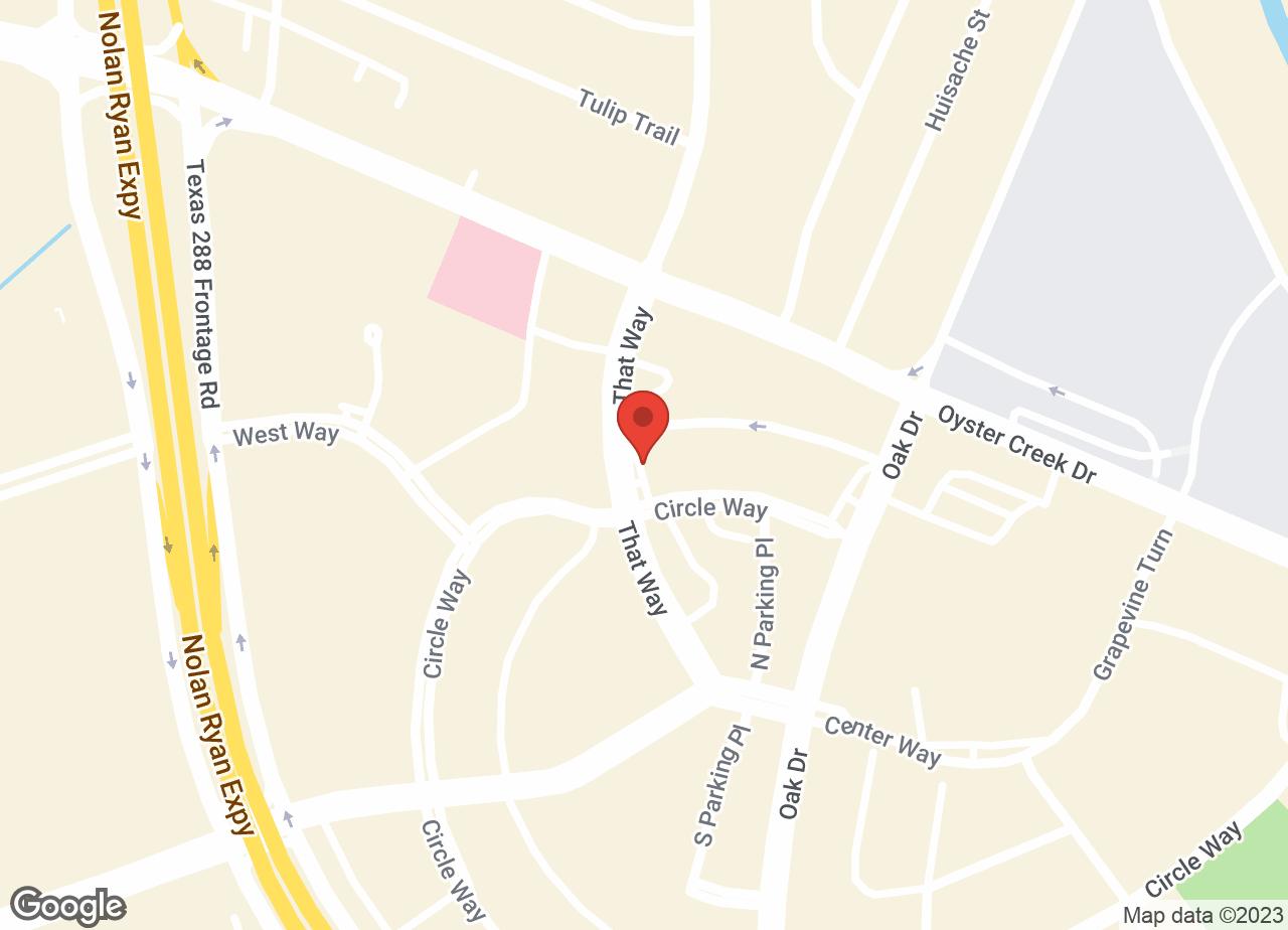 Google Map of VCA Lake Jackson Animal Hospital