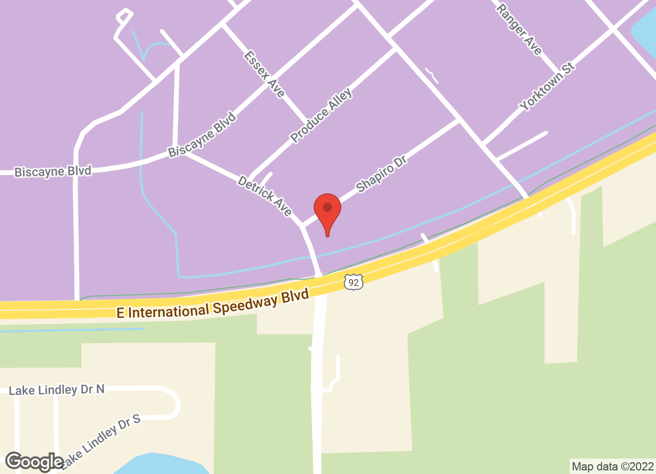 Google Map of VCA Newman Deland Animal Hospital
