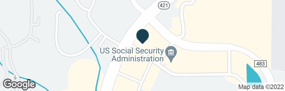 Google Map of1650 DUNLAWTON AVE