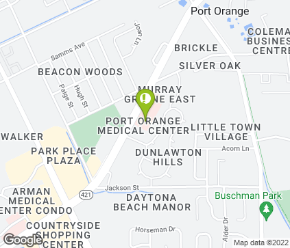 Map of 790 Dunlawton Ave in Port Orange