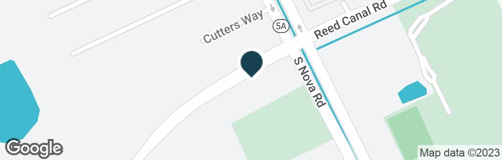 Google Map of2620 S NOVA RD