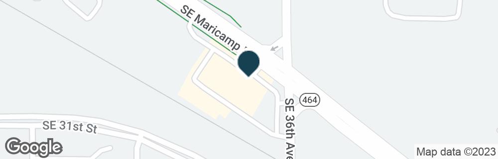 Google Map of3500 SE MARICAMP RD