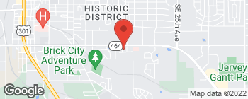 Map of 1721 SE 16th Ave in Ocala