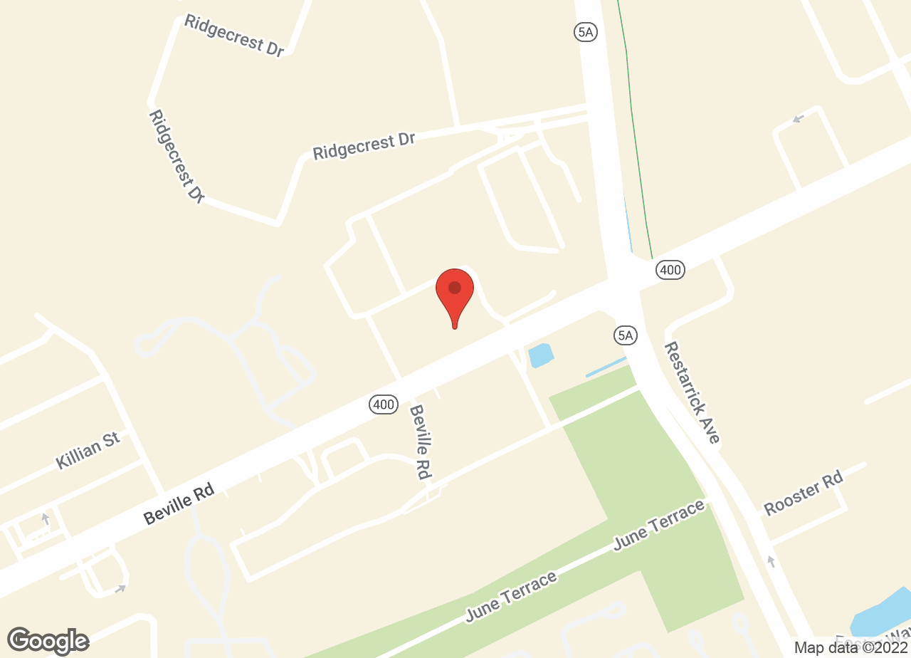 Google Map of VCA Newman Daytona Animal Hospital