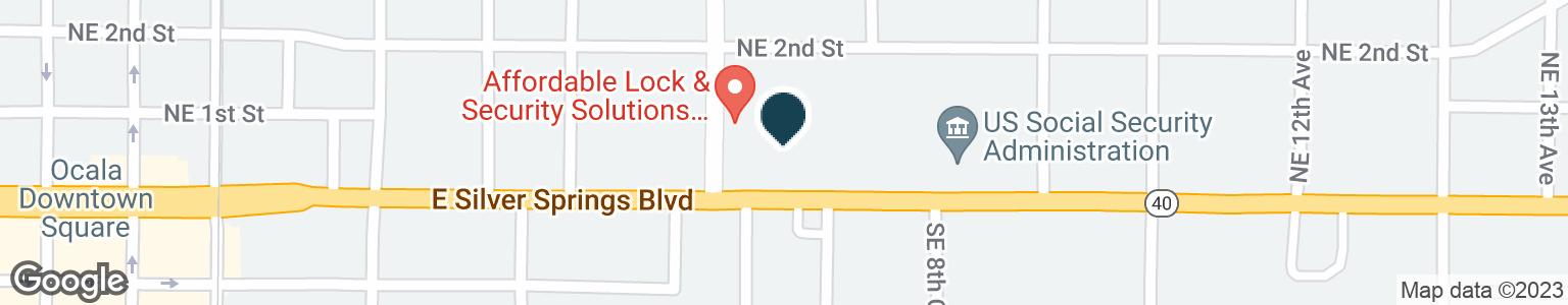 Google Map of807 E SILVER SPRINGS BLVD