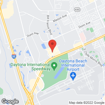 Map of Guitar Center Lessons at 220 Daytona Blvd., Daytona Beach, FL 32114
