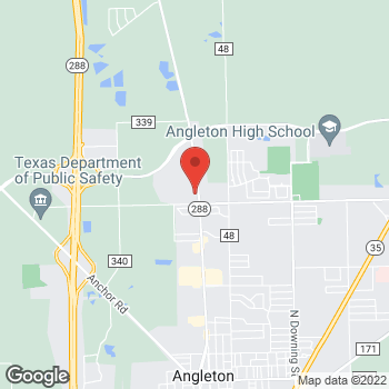 Map of Arby's at 2905 N Velasco Blvd, Angleton, TX 77515